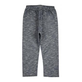 spodnie-legginsy dziewczęce z miękkiej dzianinki - AZ-7604