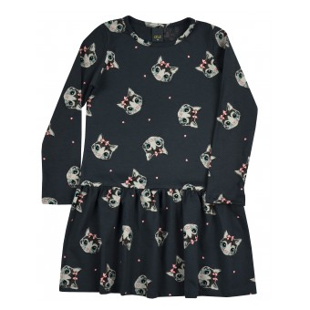 bawełniana sukienka - A-9232