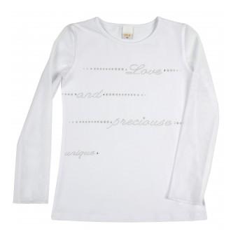 bluzka dziewczęca długi rękaw - A-9245
