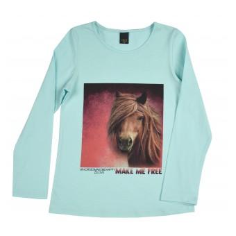 bluzka dziewczęca długi rękaw - A-9241