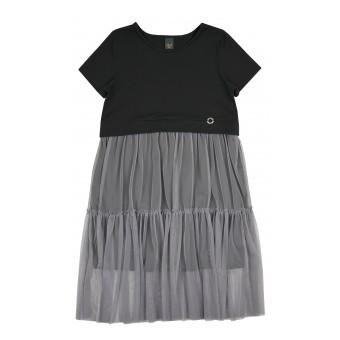 sukienka z tiulem - A-9254