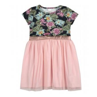 sukienka dziewczęca z tiulem - A-9276