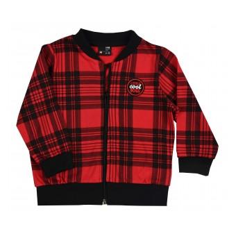cienka bluza chłopięca długi zamek - GT-7980