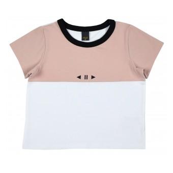 krótka bluzka dziewczęca - A-9319
