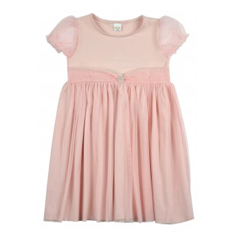elegancka sukienka dziewczęca z tiulem - A-9280