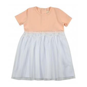 sukieneczka dziewczęca z tiulem - A-9331