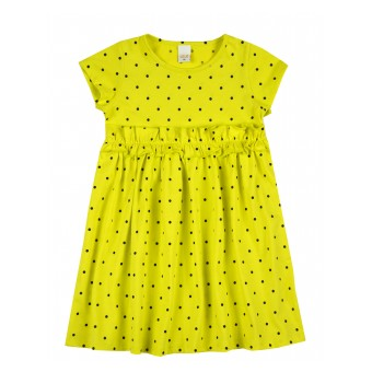 sukienka dziewczęca krótki rękaw - A-9329