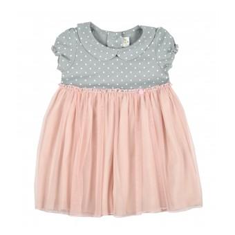 sukieneczka dziewczęca z tiulem - A-9285