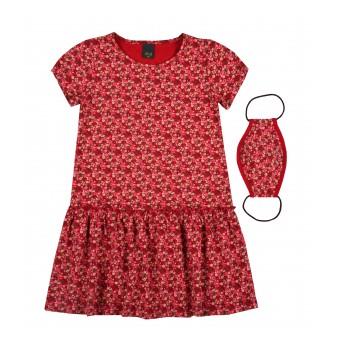 sukienka dziewczęca + maseczka GRATIS - A-9368