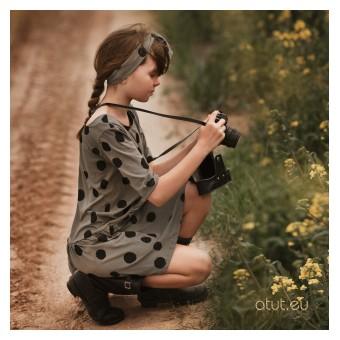sukienka  krótki rękaw - A-9391