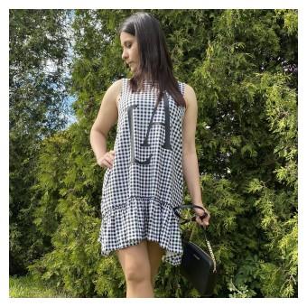 sukienka oversize - A-9417
