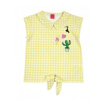 bluzka dziewczęca krótki rękaw - AZ-8010