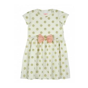 sukienka w błyszczące grochy - A-7364