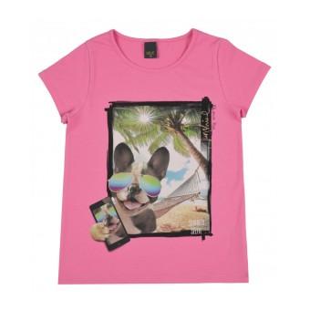 bluzka dziewczęca krótki rękaw - A-9435