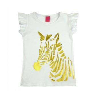 bluzeczka dziewczęca krótki rękaw - AB-8010