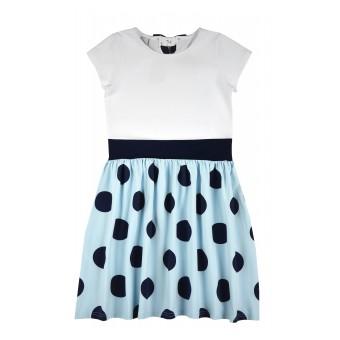 sukienka dziewczęca krótki rękaw - A-8069