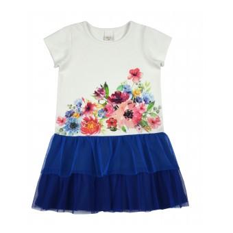 sukienka dziewczęca z tiulem - A-8873