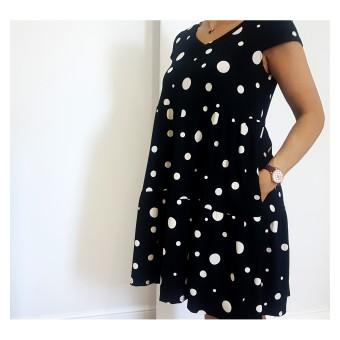 sukienka oversize - A-9439