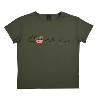 bluzka dziewczęca krótki rękaw - A-9457