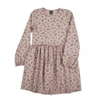sukienka dziewczęca długi rękaw - A-9473