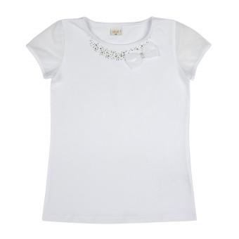bluzka dziewczęca krótki rękaw - A-9477