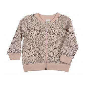 bluza dziewczęca długi zamek - A-9499
