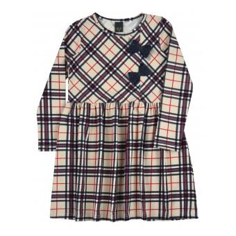 sukienka w kratę - A-9504