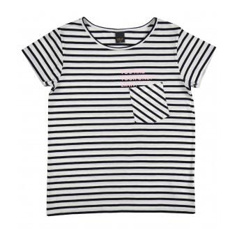 bluzka dziewczęca krótki rękaw - A-9505