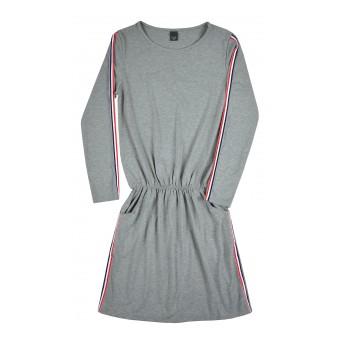 sukienka z lampasami - A-8392