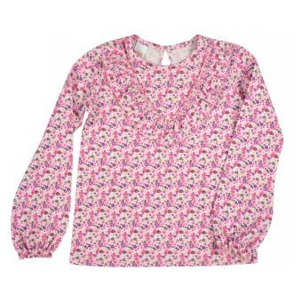 bluzeczka dziewczęca w kwiaty - A-9486