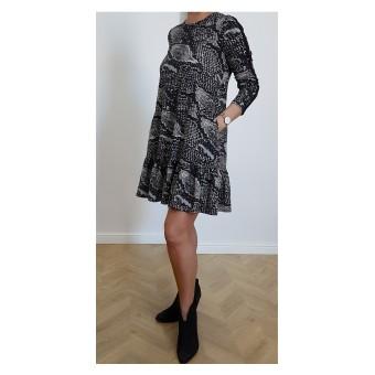 bawełniana sukienka - A-9555