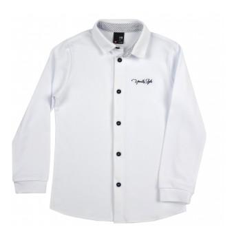 mięciutka koszula z dzianiny typu Lacosta - GT-8342