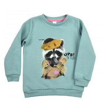 ciepła bluza dziewczęca - A-9627