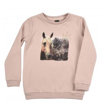 ciepła bluza dziewczęca - A-9629