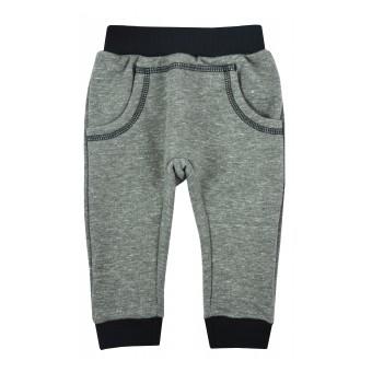 spodnie chłopięce z miękkiej dzianinki - GT-8385