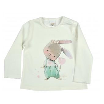 bluzeczka dziewczęca długi rękaw - A-9642