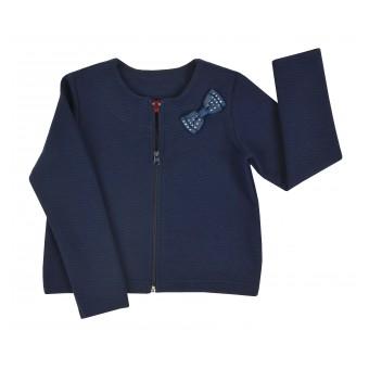 bluza dziewczęca długi zamek - A-7667
