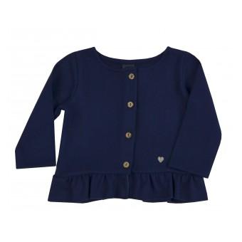 sweterek dziewczęcy na guziczki - A-9103