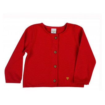 sweterek dziewczęcy na guziczki