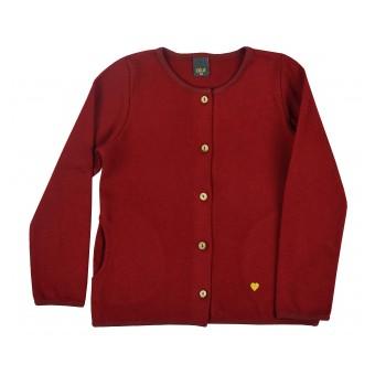 sweterek dziewczęcy na guziczki - A-9438