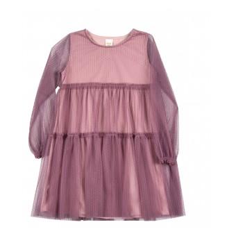 sukienka dziewczęca z tiulem - A-9687