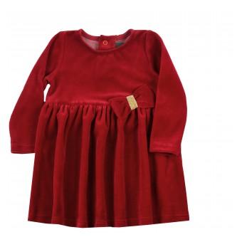 sukieneczka z weluru - A-9701