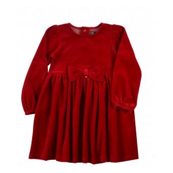 sukienka z weluru - A-9702