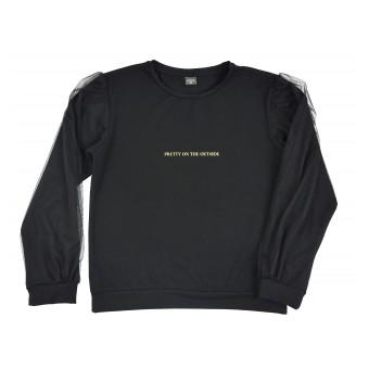bluzka z modnymi rękawkami - A-9704