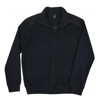 sweter męski długi zamek - poszerzony obwód - GT-8431