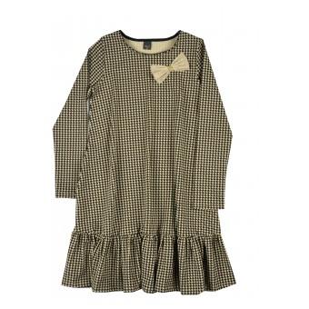 sukienka dziewczęca z kieszonkami - A-9721