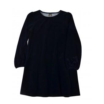 elegancka sukienka z mięciutkiego weluru - A-9708