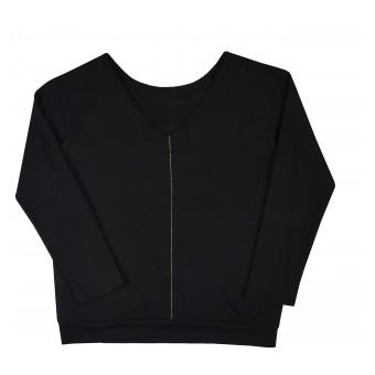 cienka bluza damska oversize - A-9731