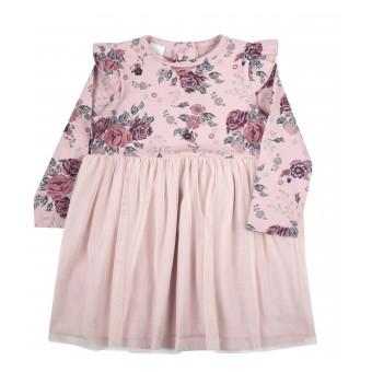 sukieneczka dziewczęca z tiulem - A-9730