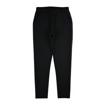 spodnie dresowe z ozdobnym przeszyciem - A-9732